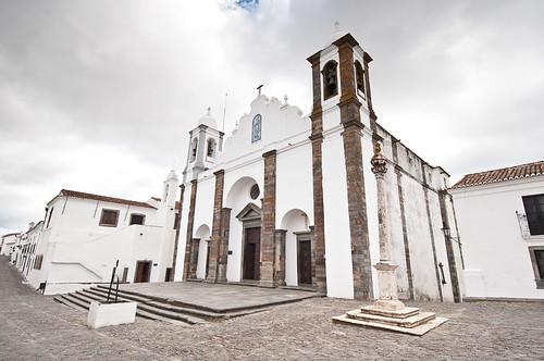 La Iglesia Matriz de Santa María da Lagoa en Monsaraz