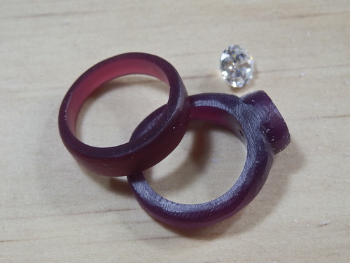 Rings in progress