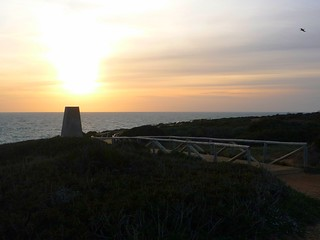 Faro Cabo Roche eisiger Sunset
