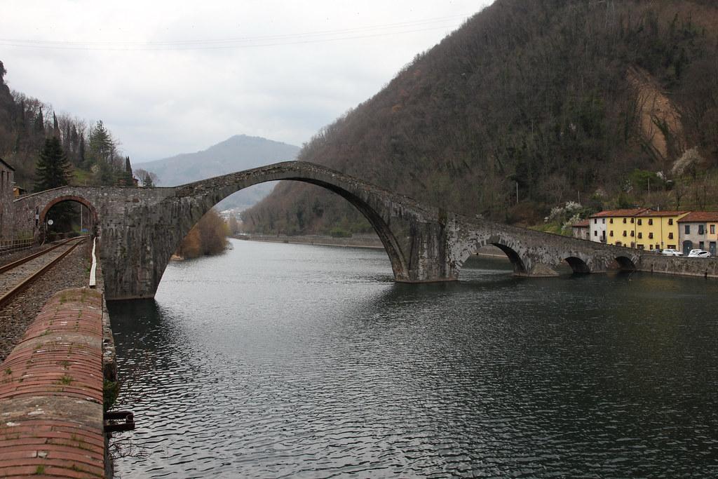 """Ponte della Maddalena detto """"Ponte del Diavolo"""""""