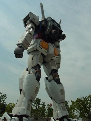ガンダムフロント東京 2012/05/07(RX-78-2 ガンダム・後ろ姿)