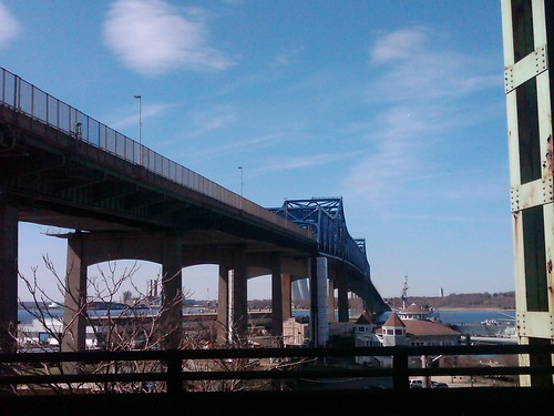 Fall River- Somerset, Braga Bridge, March 23, 2012