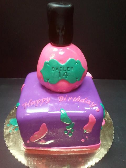 Nail Cake Morgan Taylor Polished Up Punk Swatches: Flickr - Photo Sharing