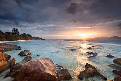 La Digue Sunset
