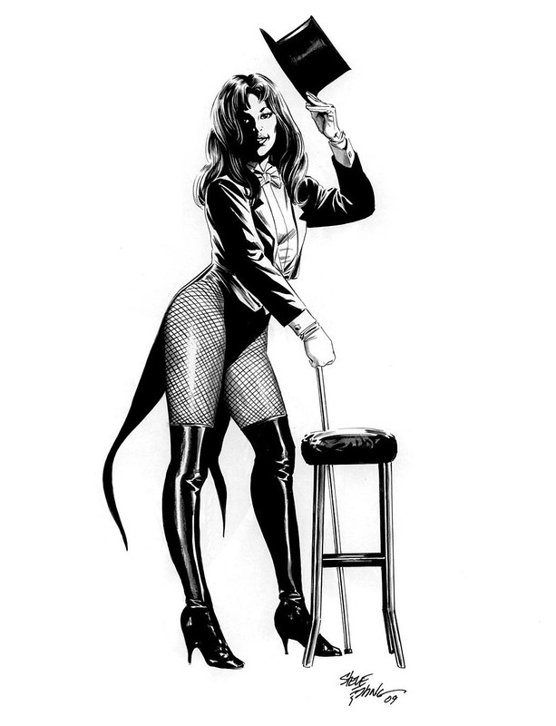 Zatanna by Steve Epting