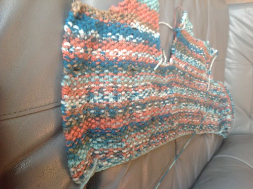 Coming along by gradschoolknitter