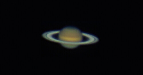 Saturn at opposition - 150412 by Mick Hyde