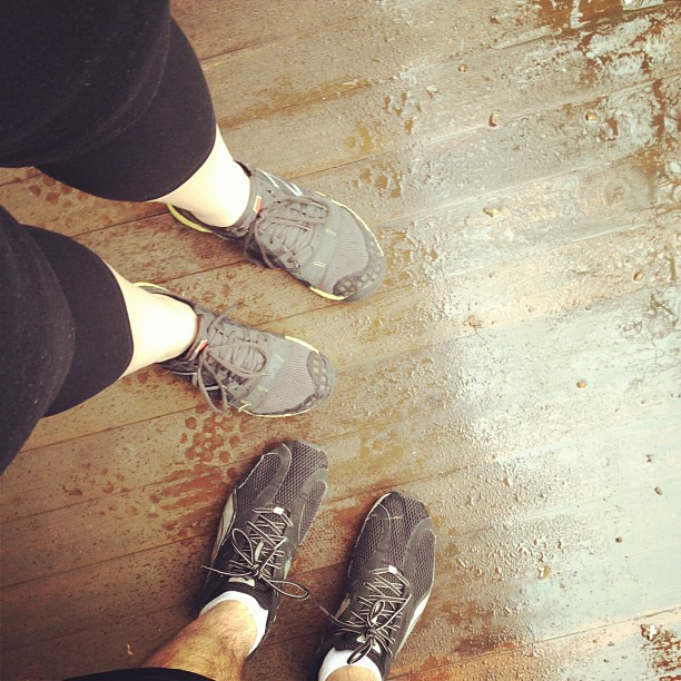 Rainy run!