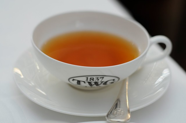 A cup of Tea at TWG