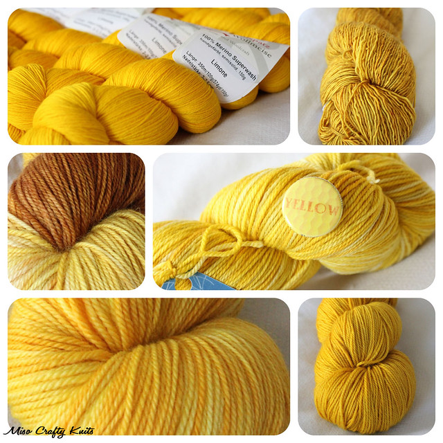 Yellow Yarns Collage