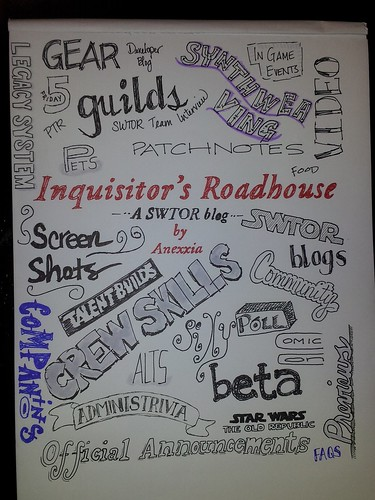 Inquisitor's Roadhouse Tag Cloud