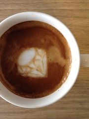 Today's latte, Ruby.