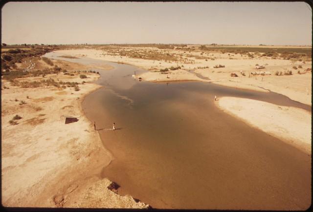 Colorado River at Mexican border, May 1972