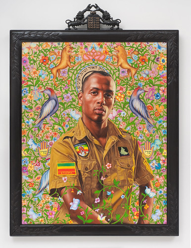 Kehinde Wiley, Kalkidan Mashasha (The World Stage: Israel), 2011