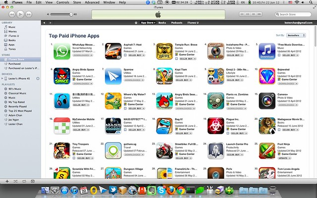 iOS App Store Now In Singapore Dollars (S$) - iTunes