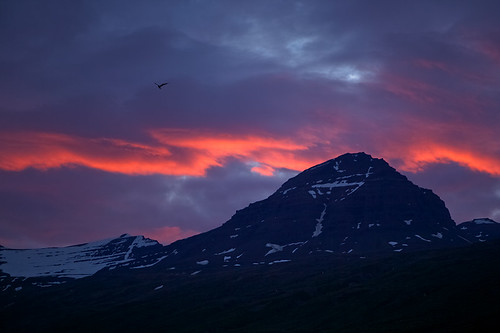 sunset sky mountains clouds iceland 500views ísland ský himinn fjöll sólsetur explored 25faves fáskrúðsfjörður faskrudsfjordur hoffell jónínaguðrúnóskarsdóttir
