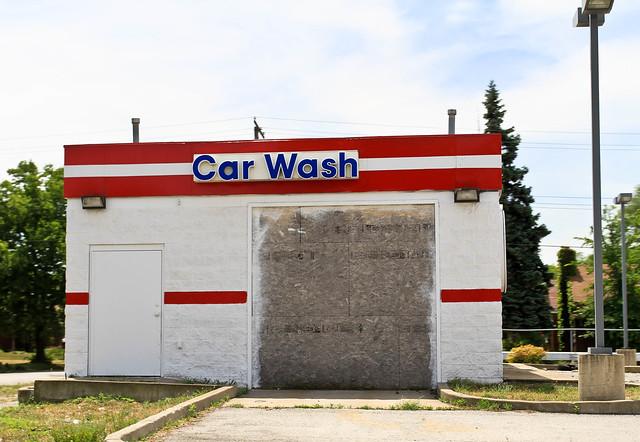 Abandoned Car Wash, Petrol Station | Flickr - Photo Sharing!