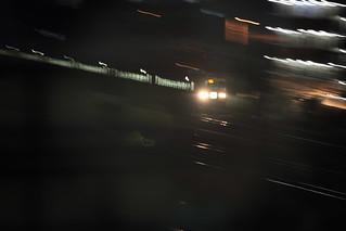 鉄道博物館から望む185系 流し撮