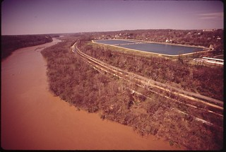 The Dalecarlia Reservoir And The Potomac River, April 1973