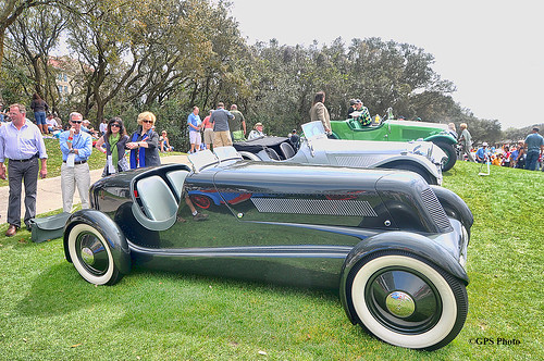 1934 Ford Model 40 Special Speedster at Amelia Island 2012