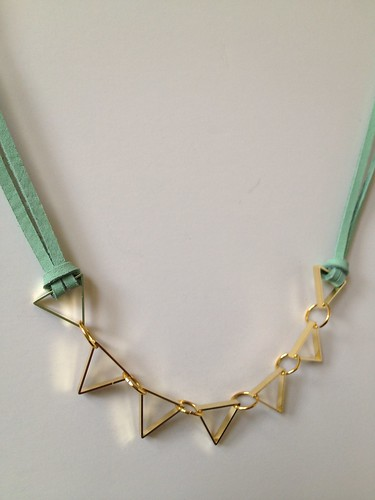 Cut Metal Necklace 09