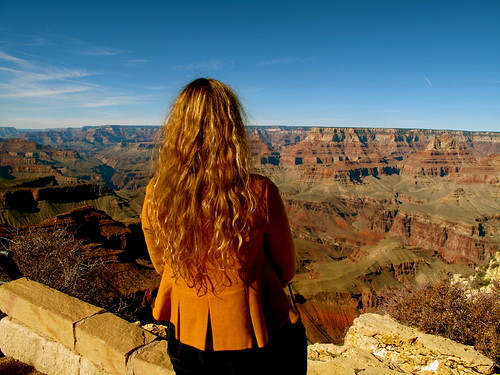 Brenna Holeman in Grand Canyon, USA