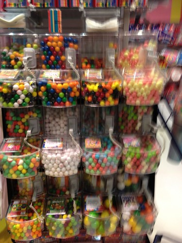 Wall of gumballs #2