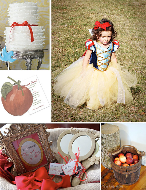 Enchanted Snow White Party