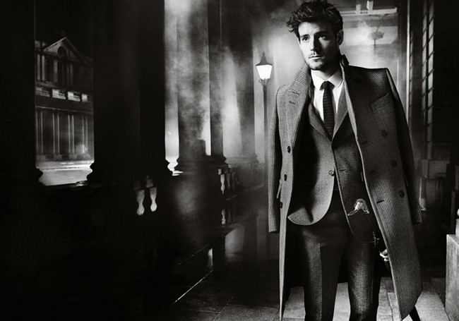 3 Burberry Autumn Winter 2012 Ad Campaign featuring Gabriella Wilde and Roo Panes4