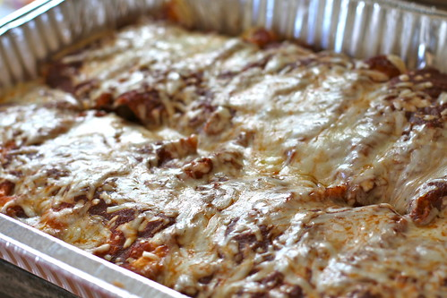 Authentic Chicken Enchiladas