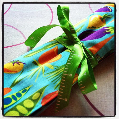 And rolled up #sewing #teacher #gifts