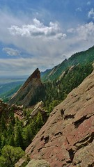 Flatirons View South