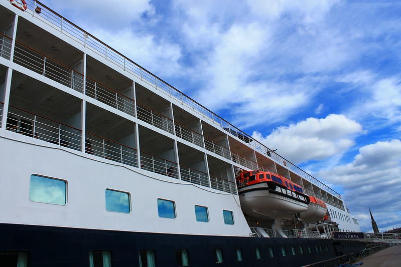 Paquebot Minerva - Swan Hellenic - Bordeaux - 12 juillet 2012