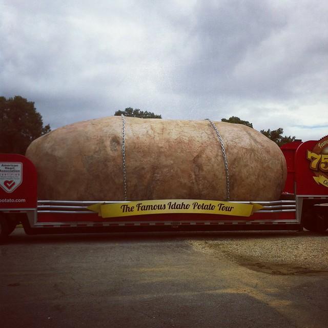 The Giant Potato  Flickr  Photo Sharing