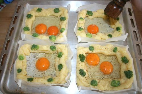 25 - Mit Pfeffer & Salz würzen / Taste with salt & pepper