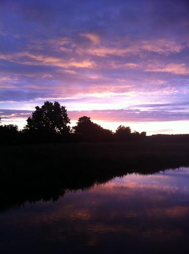 Sunset in Ommen (July 14, 2012)