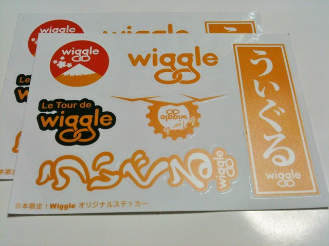 Wiggleオリジナルステッカー
