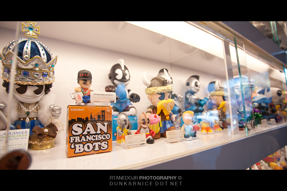 Kidrobot, San Francisco.