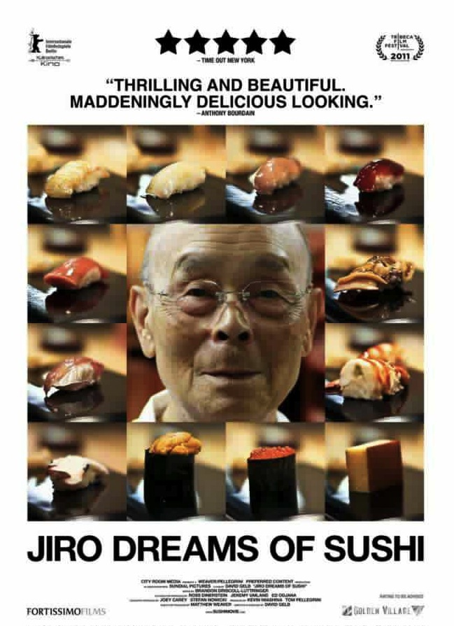 Jiro Dreams of Sushi SG poster