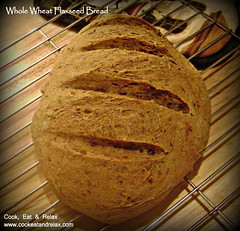 087 whole wheat flaxseed bread