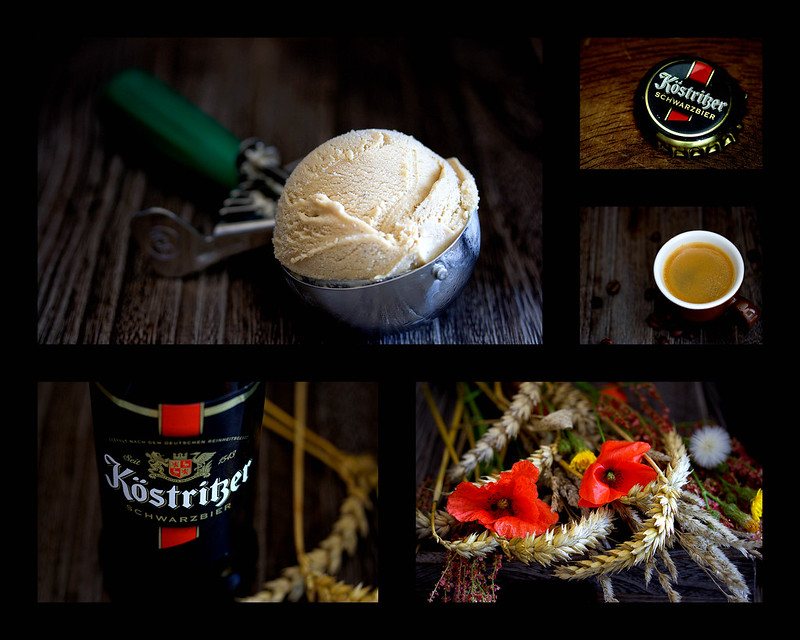 Kaffee-Schwarzbier-Eiscreme (Coffee Dark Beer Ice Cream)