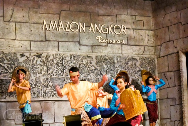 Apsara Dancers at Amazon Angkor Restaurant