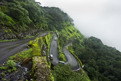 Road to the hill city of Matheran