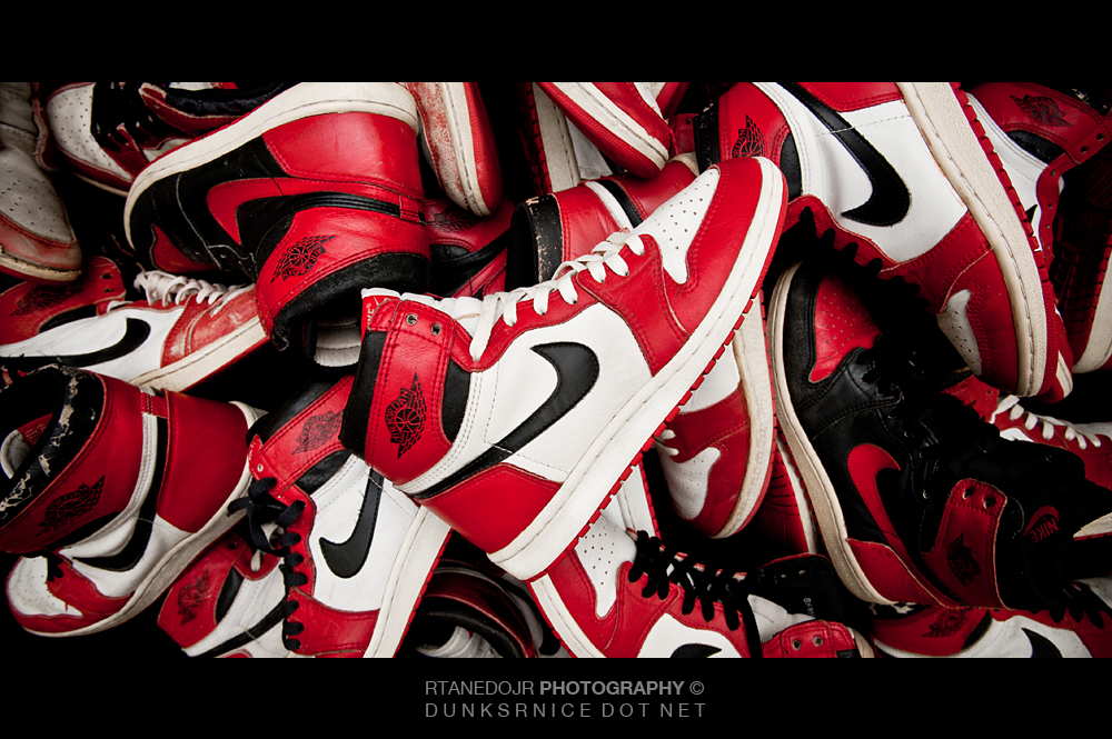 211 of 366 || 1985 Air Jordan I Photoshoot.