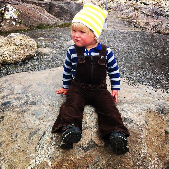 Oliver på Åreskutan
