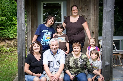 Sharon, Al, my mom, the kids and I...