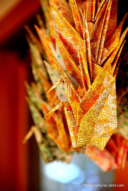 thousand origami cranes ���� senbazuru flickr photo