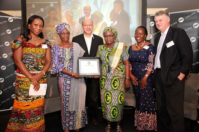 The 2011 ONE Africa Award winners