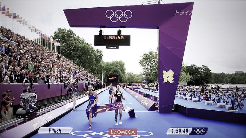 London Olympic 2012 Women's Triathlon