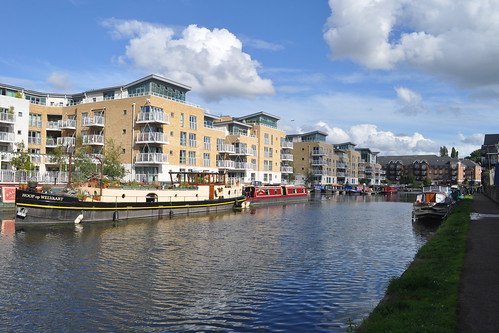 Boats at Brentford